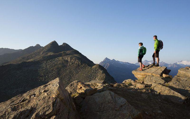 Bergsteigen in Sölden
