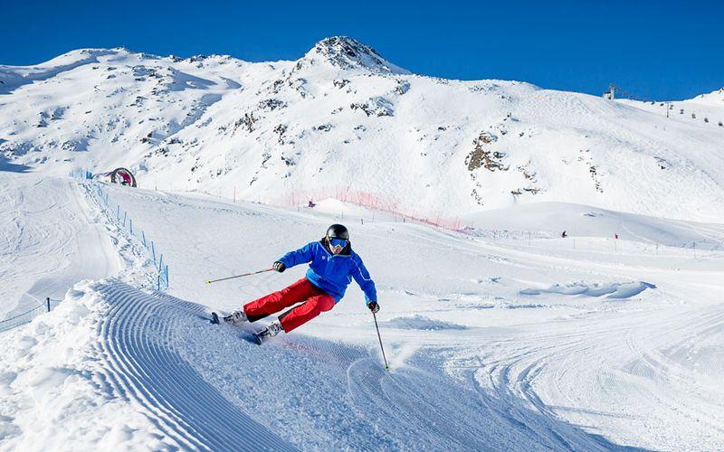 Skifahren in Sölden