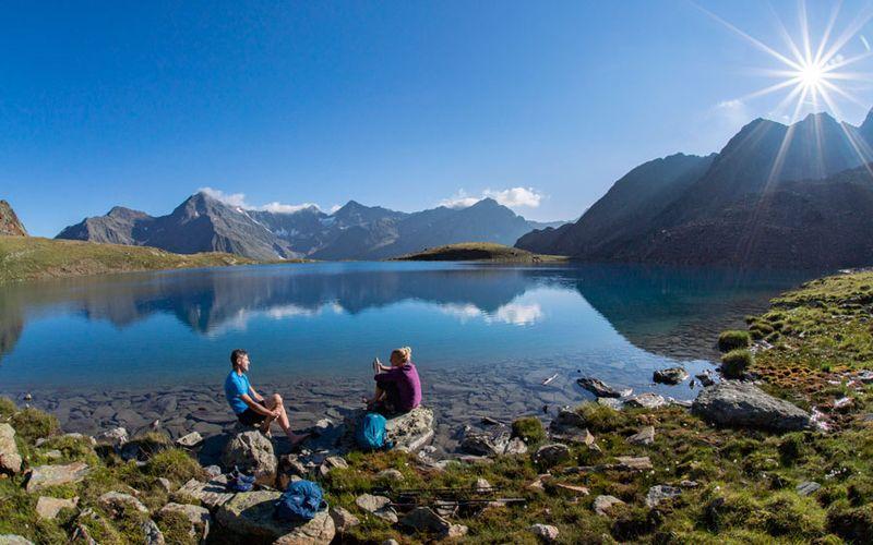 Bergtour in Sölden